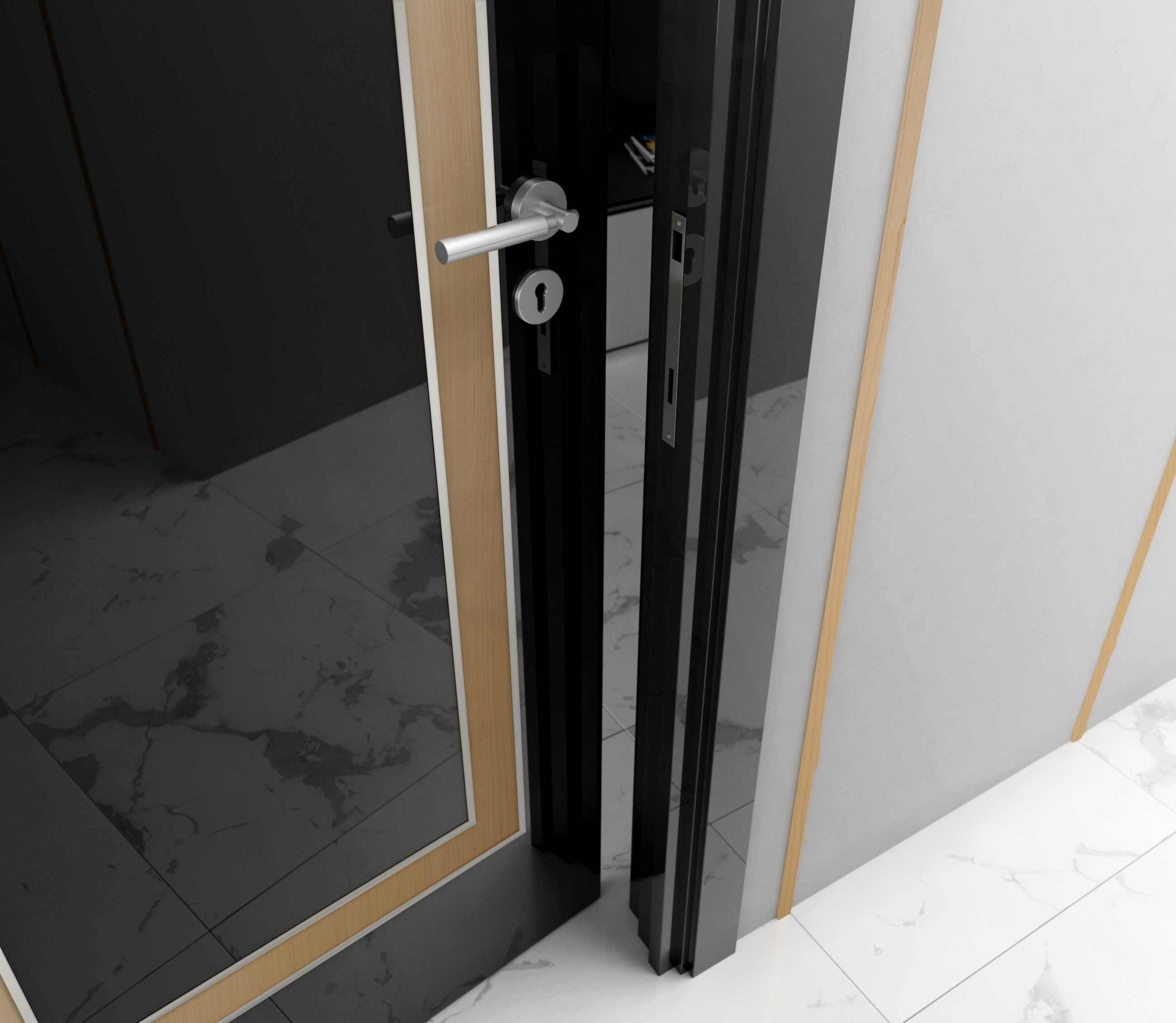 porta-config-preto-alto-brilho-faixa-betula-embutido-inox-401